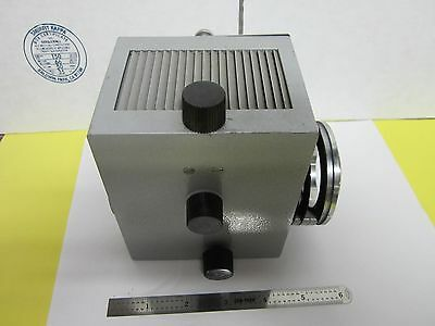 Leitz Wetzlar Germany Ortholux Lamp Housing Microscope Optics As Is Binh1-03