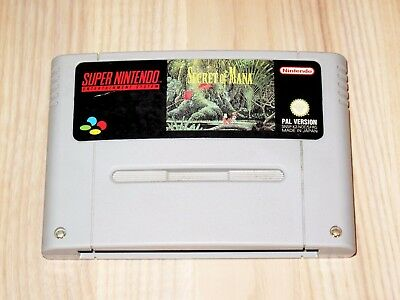 Secret of Mana Super Nintendo SNES - Game - Top RAR, used for sale  Shipping to United Kingdom