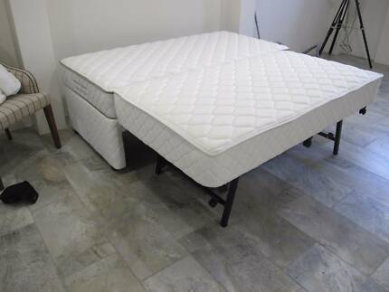SINGLE bed Base with Trundle bed with 2 mattresses NEVER USED Brisbane City Brisbane North West Preview
