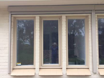Pair Nice Electric Remote Controlled External Blinds