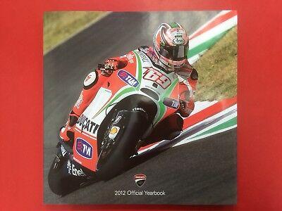 Ducati Corse official 2012 Year Book NEW MotoGP , W/SBK,  Rossi , Hayden