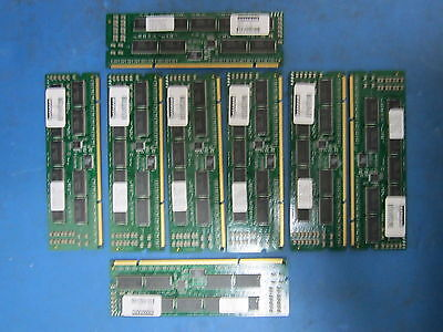 LOT of  8: DATARAM 1GB, 62661C ECC P133 133MHz 232-Pin SDRAM Registered Memory
