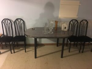 Table and chairs and desks - best offer