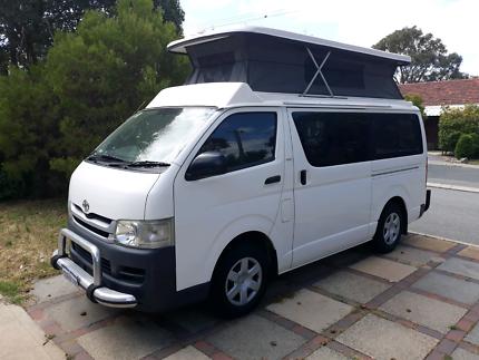 Hiace Campervan Hilton Fremantle Area Preview