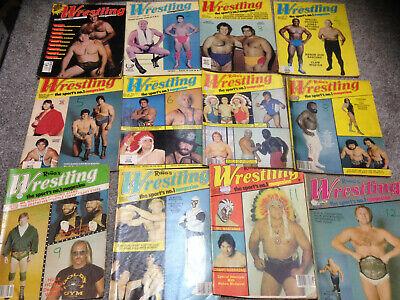 WWF WWE Vintage Wrestling MagazineTHE RINGS WRESTLING MAG from 1980 to 1983