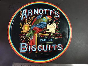 Vintage Arnotts and Willlow biscuit tins x 2 Castle Hill The Hills District Preview