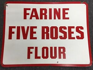 Enseigne FIVE ROSES
