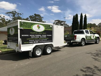 Lawn Mowing Trailer with ramps Stanhope Gardens Blacktown Area Preview