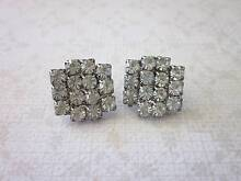 Vintage rhinestone earrings c1970s New Lambton Newcastle Area Preview