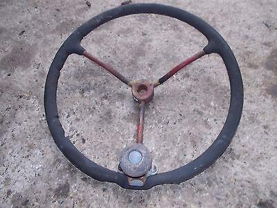 Farmall B C Bn Tractor Original Ih Ihc Steering Wheel Knuckler Knuckle Spinner