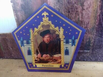 Harry Potter Chocolate Frog Card - Paracelsus!!  VERY RARE!!