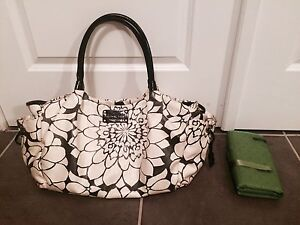 Kate spade diaper bag & change pad