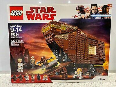 Lego Star Wars Sandcrawler (75220) New in Sealed Box NIB