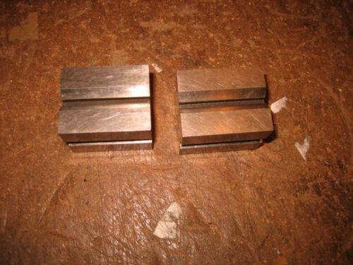 Pair of Brown & Sharpe Small V Block, #750A, USA