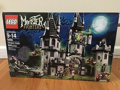 Lego 9468 Monster Fighters Vampyre Castle Bags 3-7 sealed MISSING FIGURES