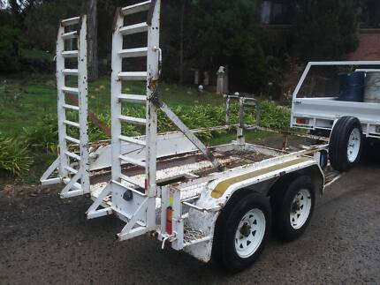 Tandem trailer, Plant Trailer, Excavator Trailer. Epping Whittlesea Area Preview