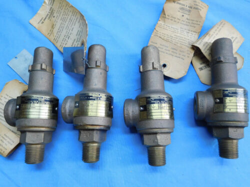 """Dresser Type 1478 1/2"""" 35 PSI Consolidated Safety Valve 4each"""