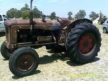 fordson major tractor Roelands Harvey Area Preview