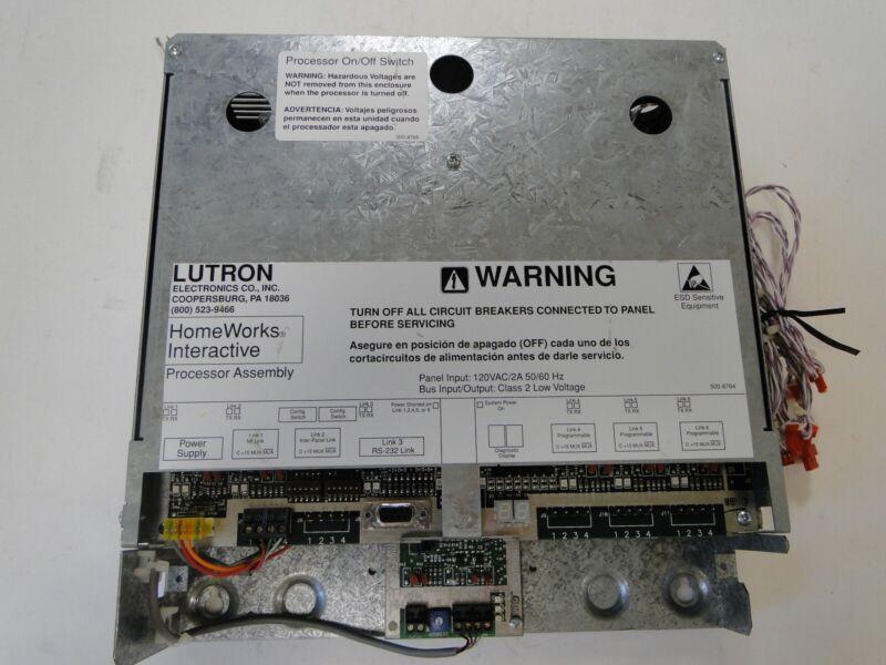 LUTRON HWI-PM-120 Homeworks Interactive Processor - New Battery