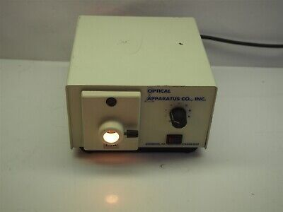 Fostec Optical Apparatus 8300ip Microscope Illuminator Light Source