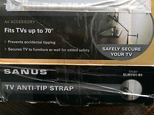 Sanus - TV anti-tip strap