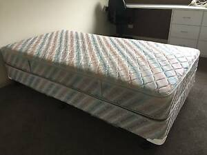 King size single bed with posturepedic mattress Belrose Warringah Area Preview