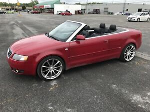 (Sold)Audi A4 1.8T convertible SLine