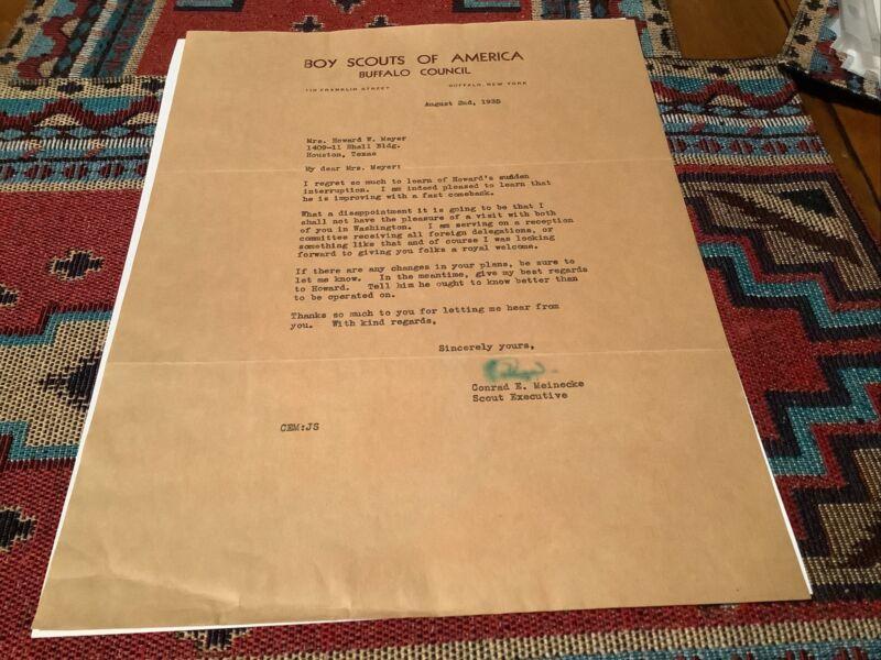 1935 Letterhead Buffalo Council New York