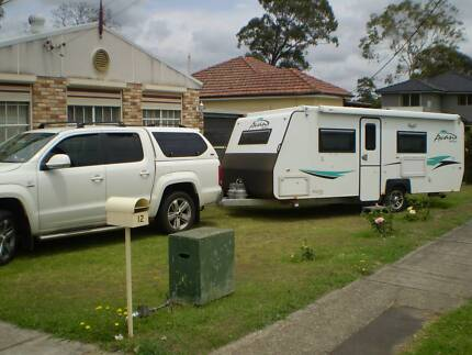 poptop caravan with ensuite and tow vehicle Pendle Hill Parramatta Area Preview
