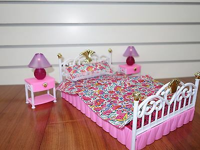 99001 My Fancy Life Bedroom , Gloria, Barbie Size doll furniture