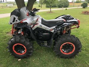 REDUCED 2016 can am renegade xmr 1000
