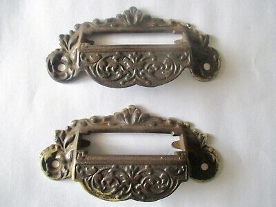 """Vintage 8 Sided Grapes Drawer Bail Pull 2.25"""" Center To Center 2.75/"""" L x 2/"""" W"""