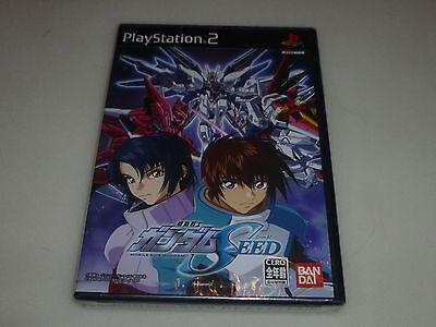 Kidou Senshi Gundam Seed (NEW SEALED JAPAN IMPORT PLAYSTATION 2 GAME KIDOU SENSHI GUNDAM SEED MOBILE SUIT  )