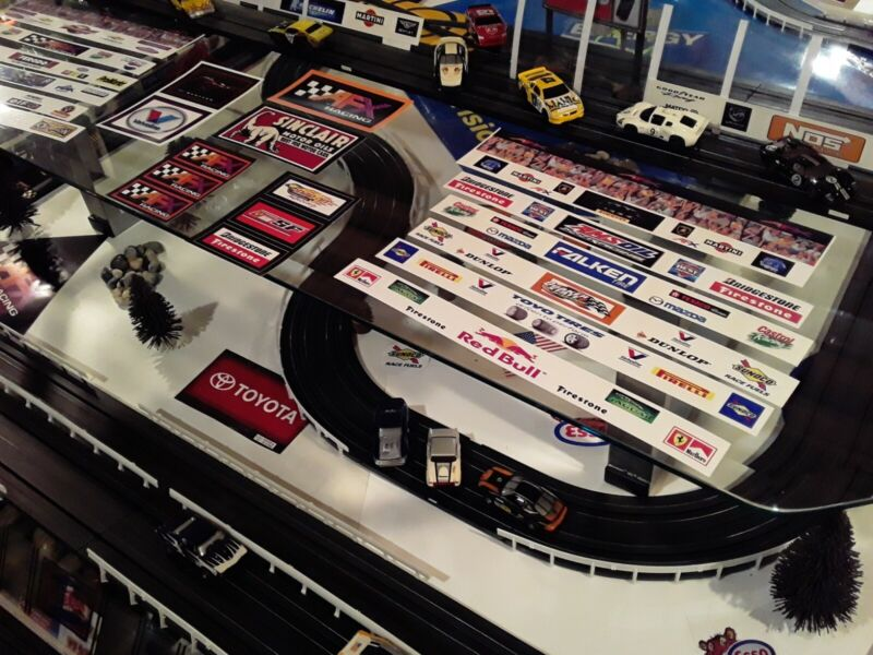 #101 Slot Car Track Customized Kit