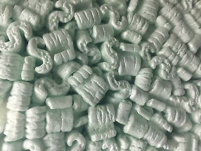 Packing Peanuts Shipping Green 4 cubic feet Anti Static Loose Fill
