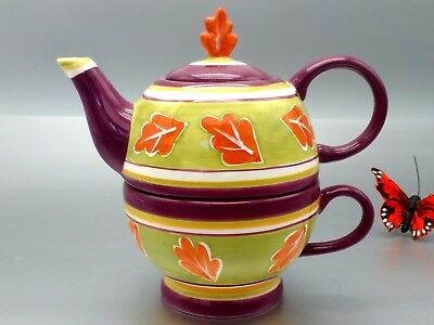 Mesa Teapot Single Cup hand crafted 3 Piece personal collection unused