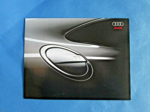 2008 Audi TT Sales Brochure