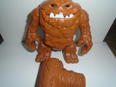 Fisher-Price Imaginext DC Super Friends Brown Clayface w Hammer