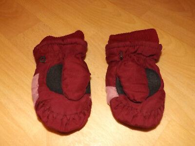 Faust, rot (Mädchen Rot Handschuhe)