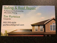 Siding & Roof Repair