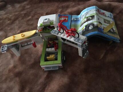 Lego 10220 Volkswagen T1 Camper Van Instructions Toys Indoor