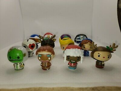 2019 FUNKO POP Fortnite Advent Calendar 12 Pieces Pint Size Heroes - Incomplete