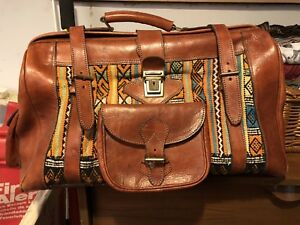 Amazing leather bag - from Morocco