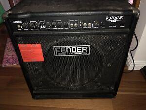 Lificador Fender Rumble 150 Para Bajo Cargando Zoom
