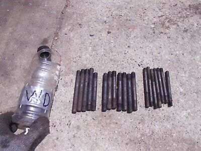 19 Allis Chalmers Wd Tractor Ac Engine Motor Head Manifold Bolt Bolts