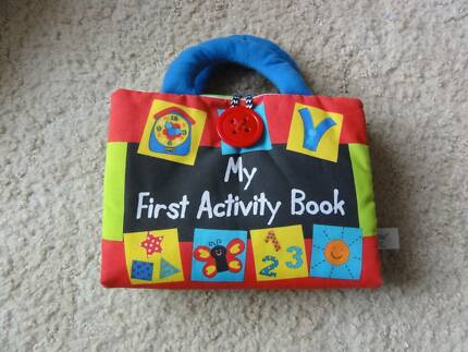 Toddler My First Activity Book - fabric