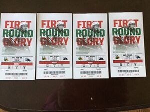 4 Halifax Mooseheads tickets