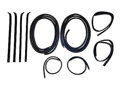 (New Door Window Weatherstrip Seal Kit - 10 Pieces, For Dodge Truck, 1980-1993)