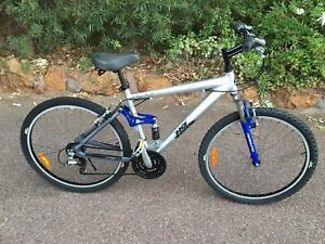 No Fear mountain bike, aluminum frame