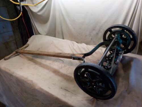 Antique Vintage Rotary Reel Push Mower